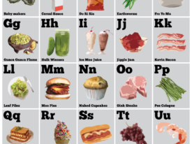 Tom Haverfoods Alphabet Poster